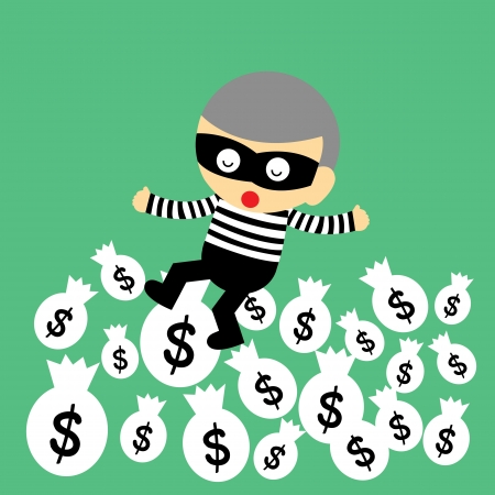 swindler: vector cartoon style for use