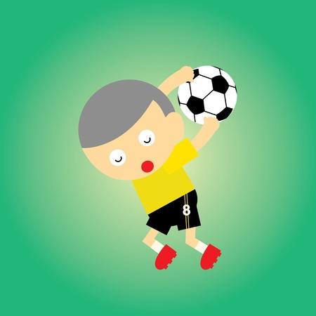 sport cartoon style for use Vector