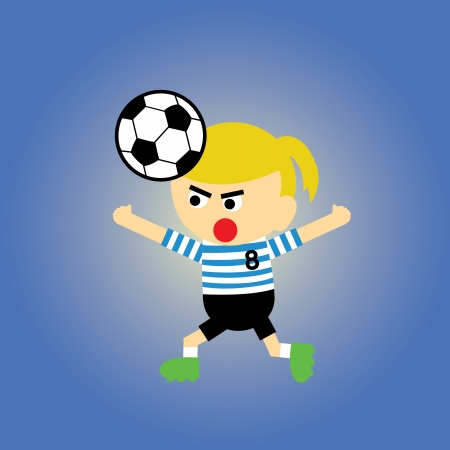 rehearse: sport vector cartoon style for use