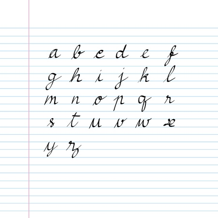 handwriting font set for use