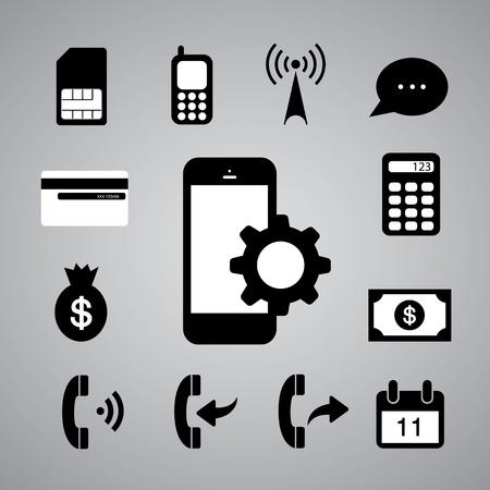wifi access: simbolo tecnologia su sfondo grigio