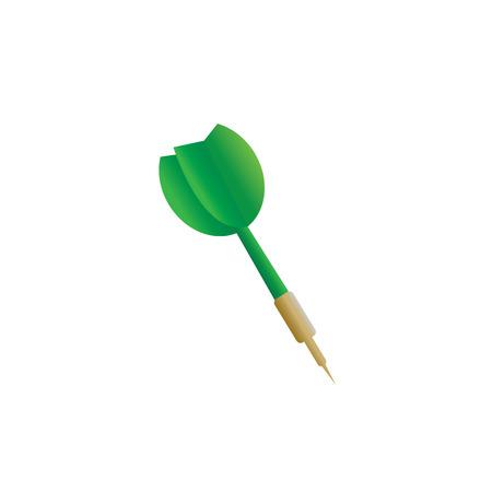 darts target vector cartoon style Stock Vector - 22545766