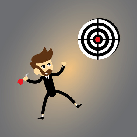 I have got target vector cartoon Vector