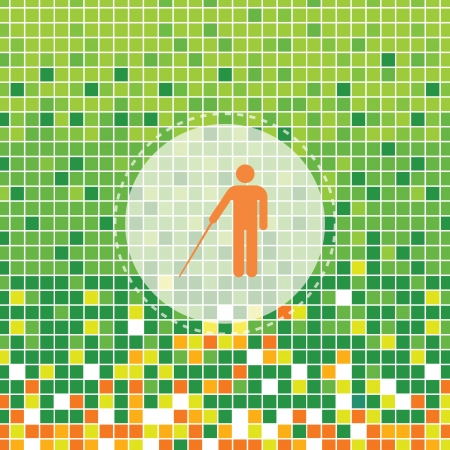 moses: Blind symbol moses graphic design
