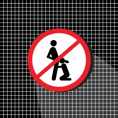seks: Brak oznak seks, aż we właściwym czasie i miejscu Ilustracja