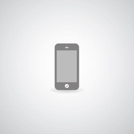 jailbreak: mobile symbol on gray background