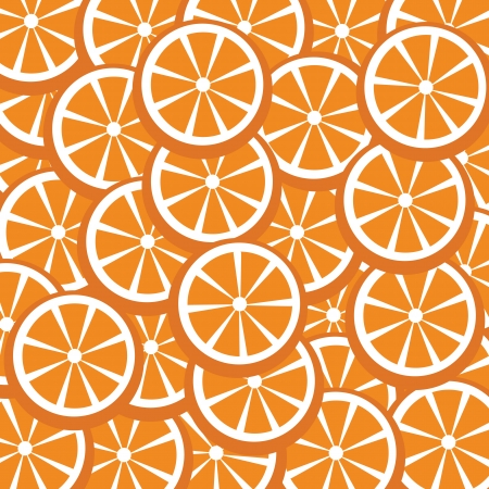 quench: fresh oranges vector for background