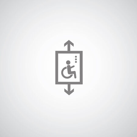 inability: disabled symbol on gray