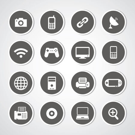 Icon IT set for use Stock Vector - 26184850