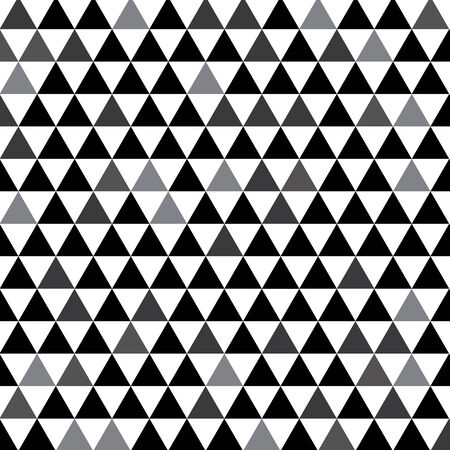 black and white of triangle abstract for background   Vector