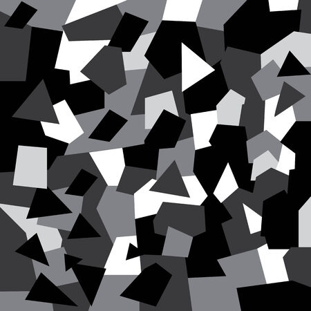 black and white abstract  background template  Vector