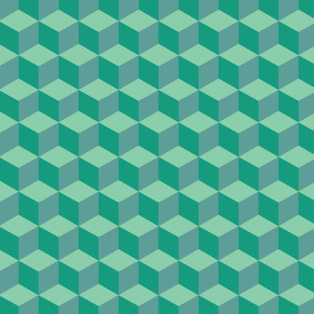 green hexagon abstract for background   Vector