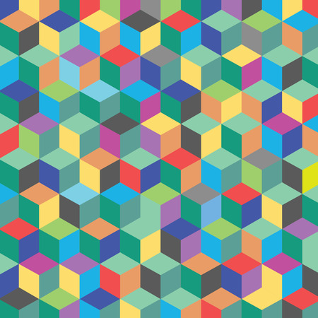 color hexagon abstract for background   Vector