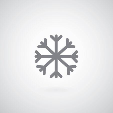 climatology: wind symbol on gray background
