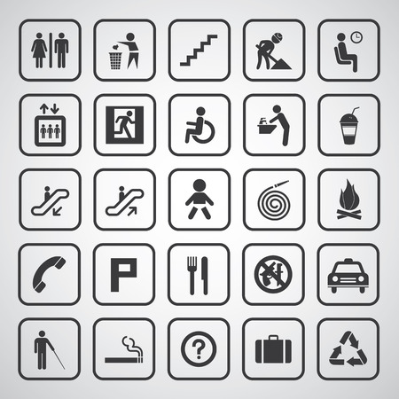 basic general icon for every place
