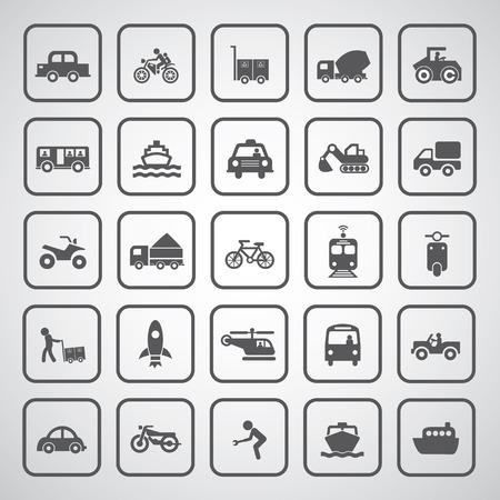 Vektor Grund Symbol Für Den Transport Lizenzfrei Nutzbare ...