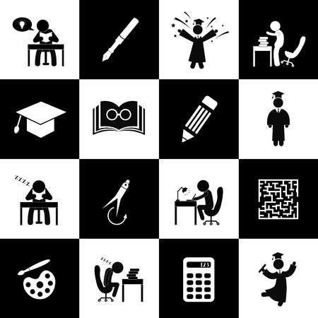 Successful study and congratulations symbol   Vector