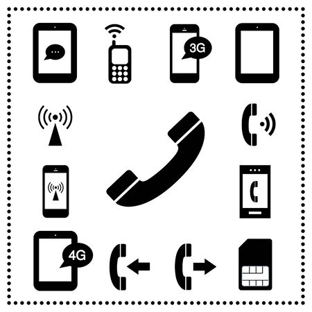 cell phone transmitter tower: technology symbol on gray background