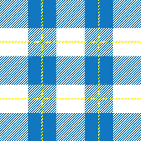 clan: vector blue seamless tartan plaid for background
