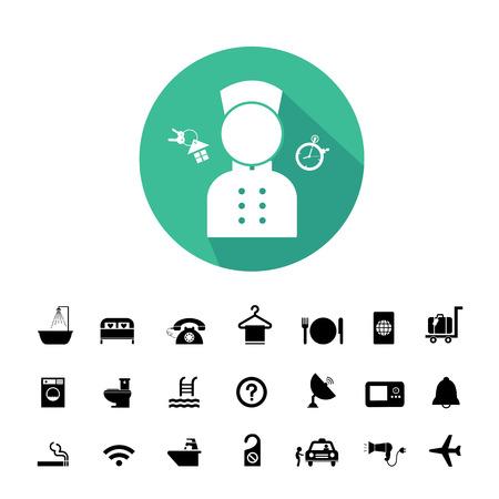 Vektor-Grund Symbol Für Hotel- Und Reise Lizenzfrei Nutzbare ...