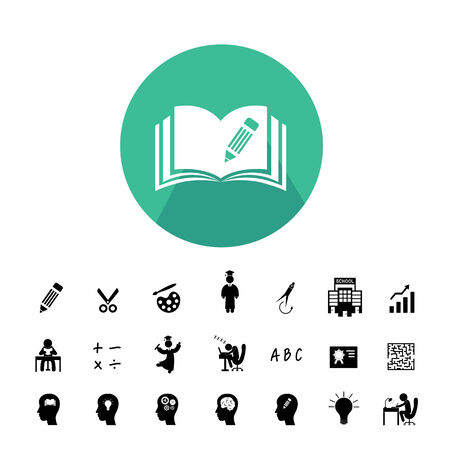 education icon: vector basic icon for education