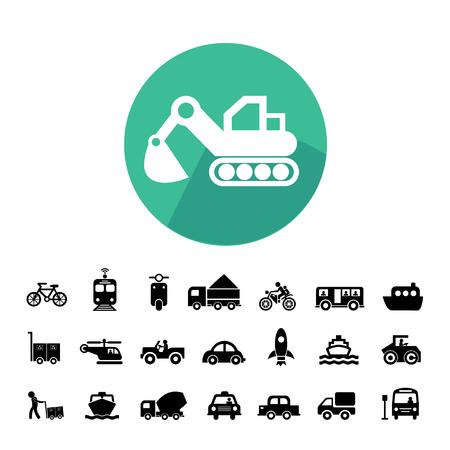 Vektor Grundsymbol Für Den Transport Lizenzfrei Nutzbare ...