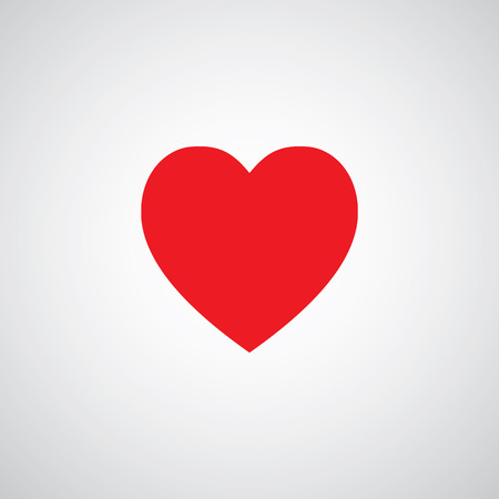 romantic heart: heart shape symbol design