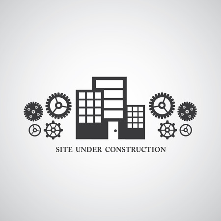 construct: site under construct vector symbol Illustration