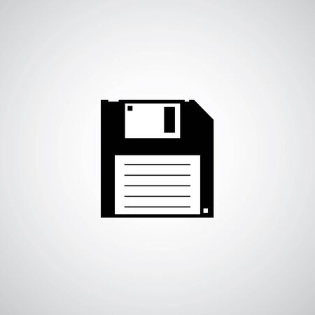 device disc: floppy disk icon vector design Illustration