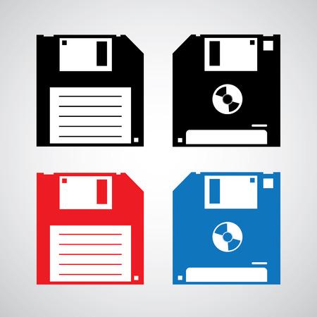 floppy disk: floppy disk icon vector design Illustration