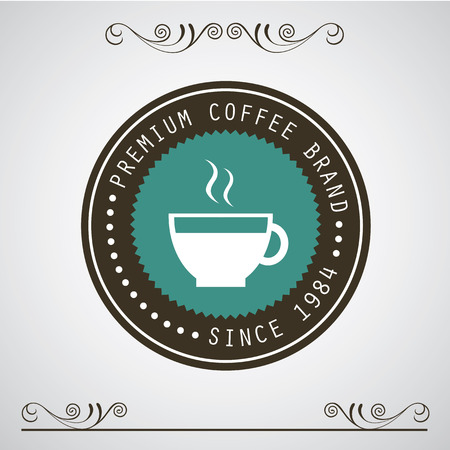 coffee: vector vintage coffee badges and labels