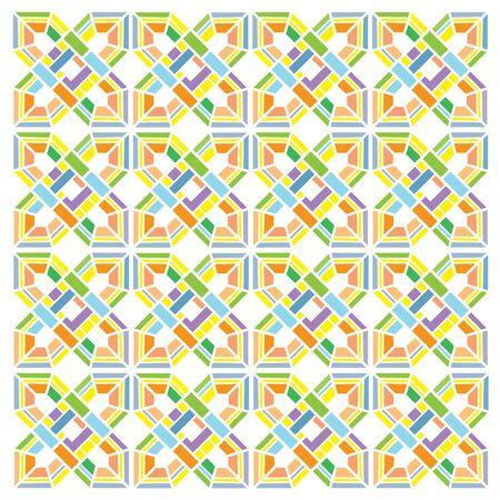 furnishings: vector tile pattern for background Illustration