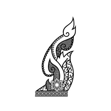 design: vector thai folk art design