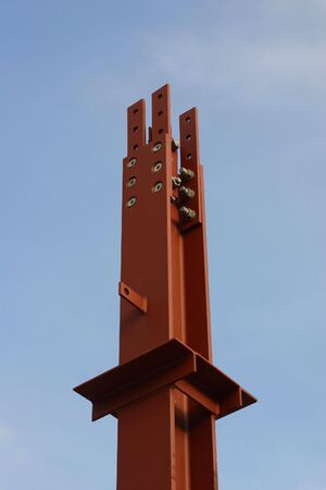 steelwork: tall steelwork Stock Photo