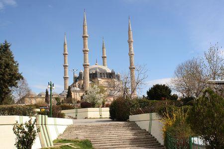 edirne: Mosque in Edirne Turkey