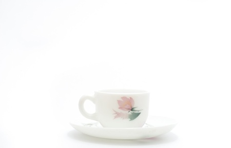 saucer and cup photo