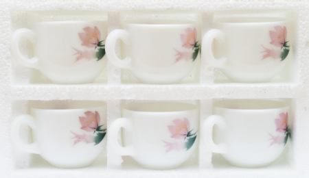 set of drinking mugs photo