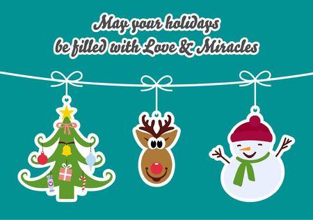 miracles: Holiday Greetings - Love and Miracles