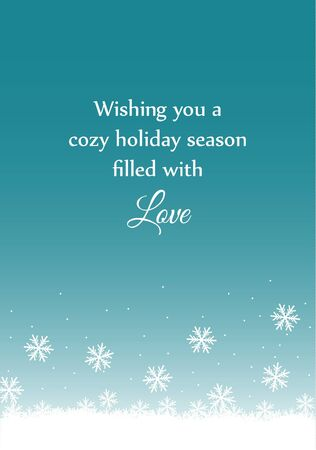 Christmas Love Card  Vector
