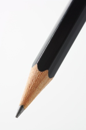 grafito: Primer plano de la punta del lápiz