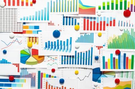 Many graphs and charts