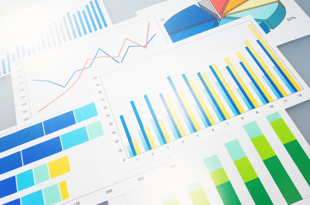 Many graphs  Analyzing finances
