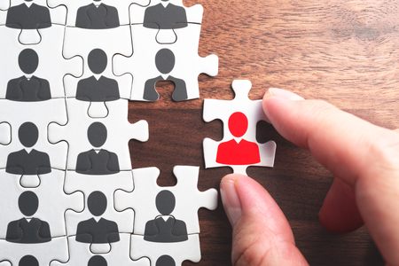 Selecting person for the job. Creating successful organization. Human resource management... Personnel, employment and recruitment concept.
