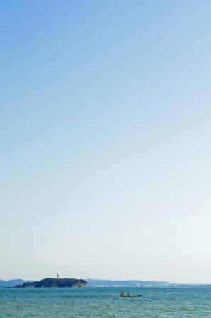 江ノ島 写真素材