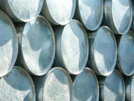 brent crude: barrels stack in row