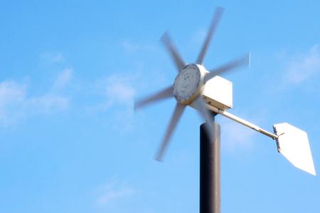 metal wind mill 写真素材