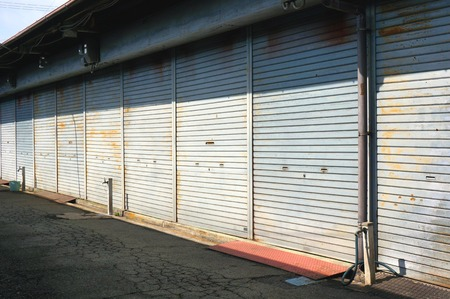 shutter garage factory