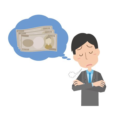 men who think about money