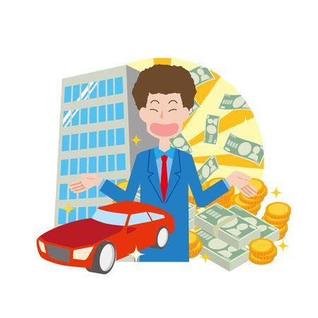 Rich Men 矢量图片