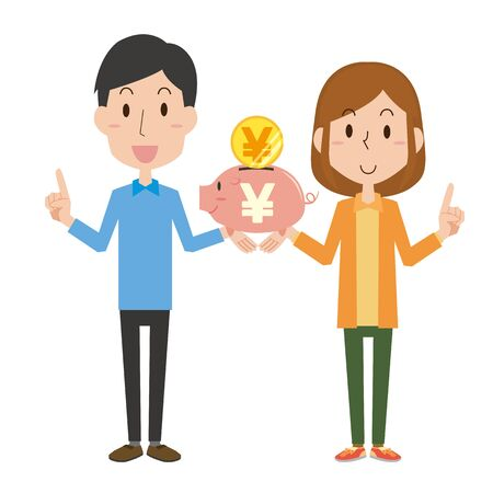 A couple who save money
